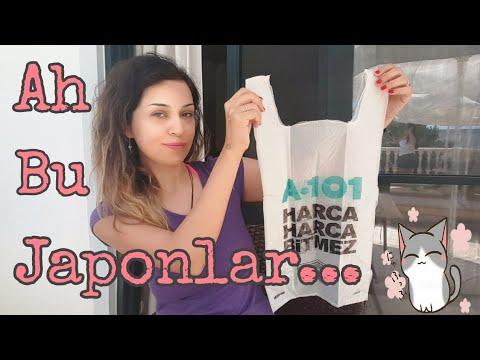 JAPONLAR NASIL POŞET KATLAR? | How To Fold Plastic Bags Japanese Style