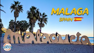 How to Visit Malaga Spain in a Day - Must See Travel Video | 80+ Countries w/3 Kids