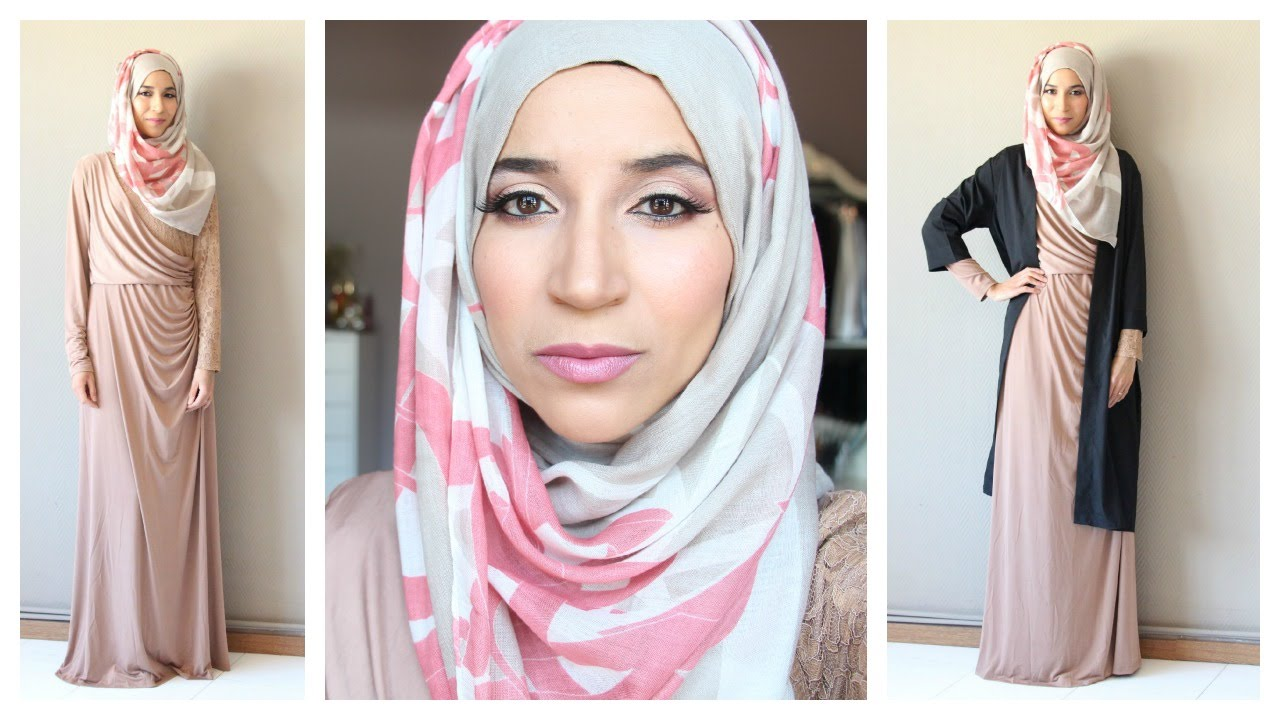 Bien-aimé Special Occasion Hijab Style : Makeup, Hijab Tutorial & Outfit  CQ77