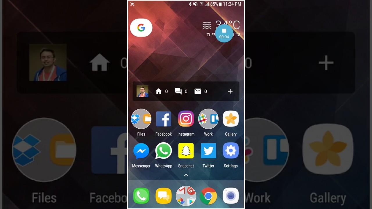 Install Samsung Screen Recorder APK on Any Samsung Device [Galaxy S8]