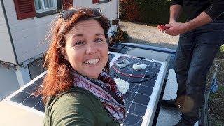 Solarmodul selber installieren・Karl wird autark・Solaranlage für Wohnmobil und Camper von Autosolar