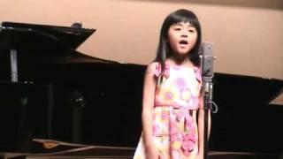 カワイうたコンクールの 山梨県入賞者コンサート ありすは、学校で習っ...