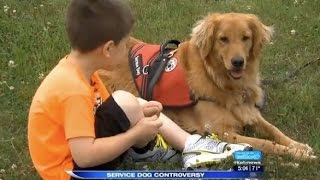 School And Family Argue Over Service Dog