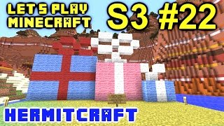 Minecraft Amplified Survival Ep. 22 - Secret Santa Dmac !!! ( Hermitcraft Server )
