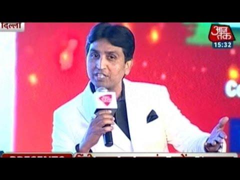 Munavvar Rana, Kumar Vishwas And Annu Kapoor  At...