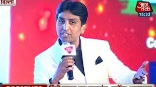 Munavvar Rana, Kumar Vishwas And Annu Kapoor  At Agenda Aaj Tak 2015