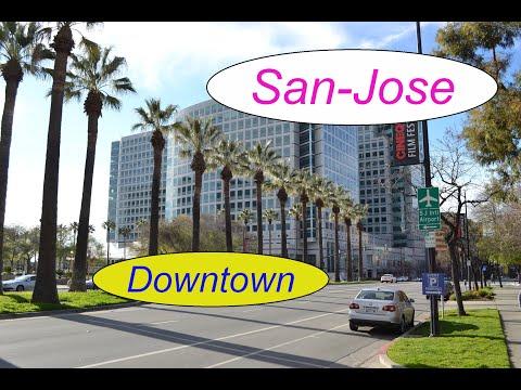 California. San-Jose. Downtown.