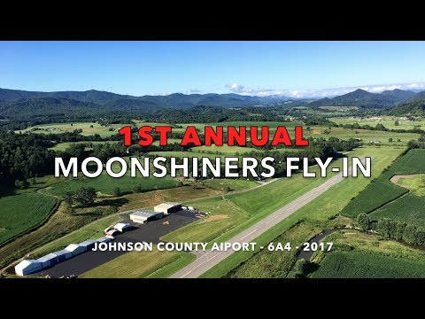 1st Annual Moonshiners Fly-In, Johnson County Airport, Tennessee