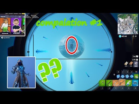 bunch of streamers react to th ice king EVENT! KLIPP THE CLUTCH
