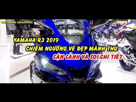 Cận cảnh và soi chi tiết Yamaha R3 2019 vẻ đẹp mãnh thú trổi dậy | Review R3 2019 beauty