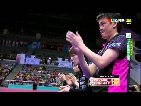 2016 WTTTC (MT-SF2) Japan Vs England [HD] [Full Match/Chinese]
