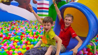 Indoor Playground for Kids Song with Baby