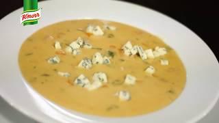 Przepis - Zupa krem z kurek z szynka (przepisy kulinarne Przepisy.pl)