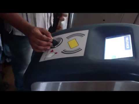 Metro Train Card Coins Usage Demo - How to Use Mumbai Metro Smart Cards and Coins