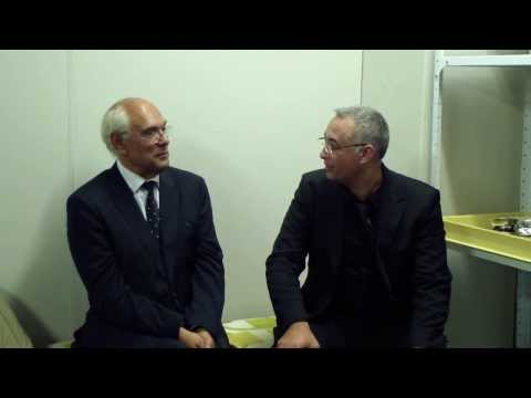 Glenn Robertson Interviewing Trevor Jones (Music Composer, Arranger and Music Film Director)