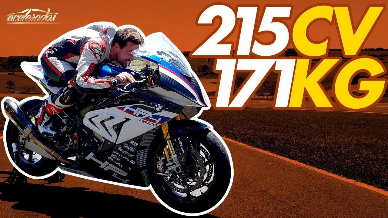 A moto de meio milhão de reais: Gerson acelera a exclusiva BMW HP4 Race - AceleMotos #10