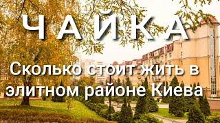 ЖК Чайка - элитный район Киева или большая парковка Цены на квартиры платежки продукты. Обзор.