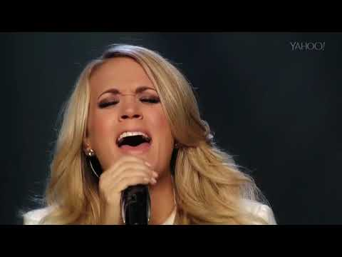 Carrie Underwood - Little Toy Guns (Live Yahoo Music 2014)