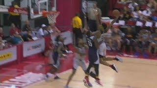 JOHN COLLINS POSTER DUNK OVER TWO DEFENDERS | Atlanta Hawks Highlights | 7.12.17