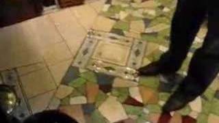 Мозаика из кафеля - укладка кафеля