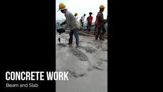 Beam and slab concrete work-2019