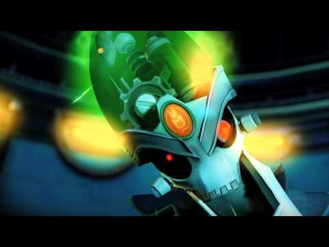 Ratchet And Clank: A Crack In Time - Dr. Nefarious TGS Trailer