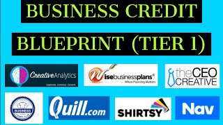 THE BLUEPRINT  HOW TO BUILD BUSINESS CREDIT FROM SCRATCH! STEP BY STEP GUIDE FOR 2021! MUST WATCH!