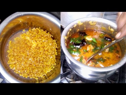 How to Cook Traditional RedGram Recipe By Grandma * Village food Factory * Street food Catalog
