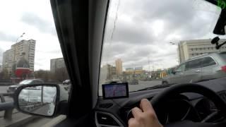Garmin DriveSmart 50 - первая поездка (4k, UHD)