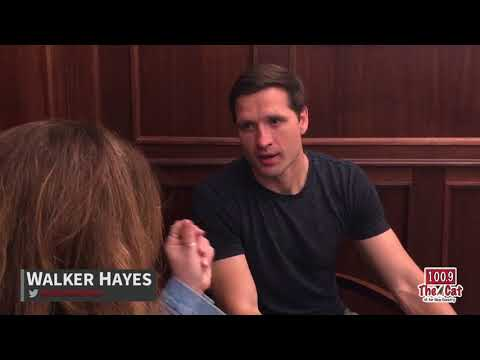 Walker Hayes with Dana Race | 100.9 The Cat