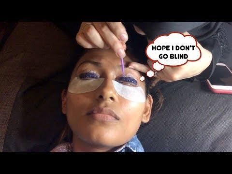 I GOT A LASH LIFT!!!! | LASH LIFTING AND TINTING IN DUBAI | Bosslady Shruti
