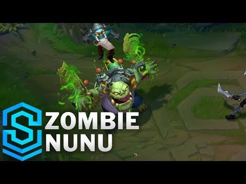 Zombie Nunu (2018) Skin Spotlight - League of Legends
