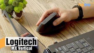 Logitech MX Vertical — обзор вертикальной мыши