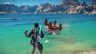 Just Cause 3 mech spinner