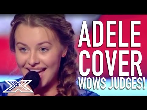 of Adeles Set Fire To The Rain WOWS judges!  X Factor Judges