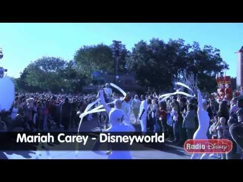 Mariah Carey at the Disneyworld Christmas Day Parade - Radio Disney