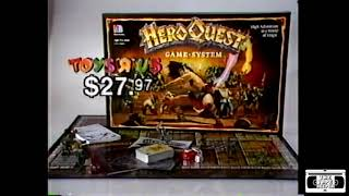 Toys R Us Commercial - Hero Quest, Guess Who? - 1991