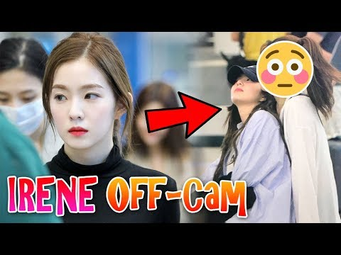 Watch how Red Velvet's leader IRENE treats her Staff behind the scenes | 레드벨벳 아이린