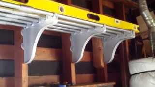 Review Of Ez Shelf 40 In. - 75 In. Expandable Garage Shelf Hd (part 2 Of 2)