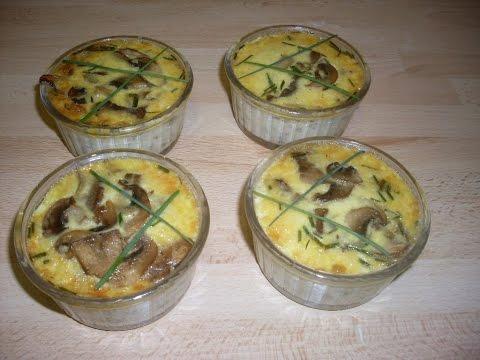 comment-faire-des-petits-flans-aux-champignons-de-paris---recette-facile