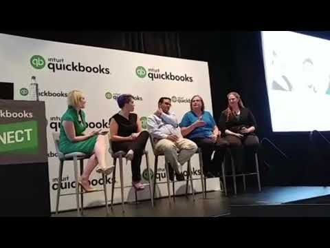 Excerpts from our panel at #QBConnect   (recorded on iPhone by audience member - LOW AUDIO QUALITY)