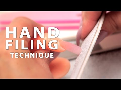 DIY Nail Workshop - Hand Filing Technique