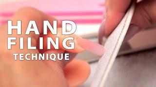 DIY Nail Workshop - Hand Filing Technique