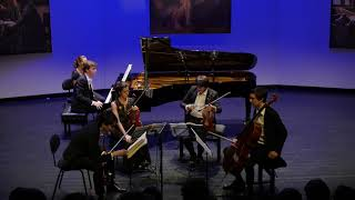 The Gerhard Quartet & Albert Cano Smit play Dvorak piano quintet