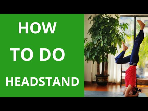 how to do headstand for beginner  headstand for beginners
