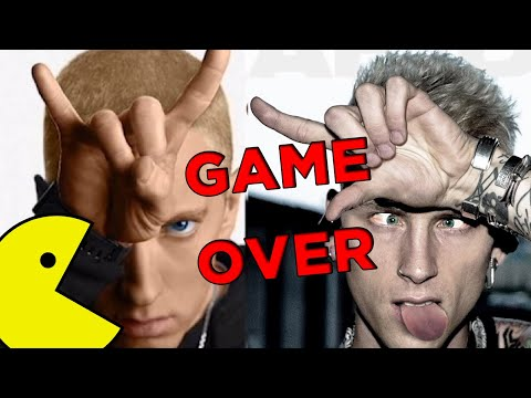 Denace - Ms. Pac-Man (EMINEM MGK Diss Response) Ft. Dispencery7