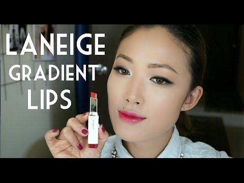 Laneige Two Tone Lip Bar | TUTORIAL - YouTube
