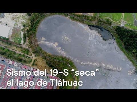 Lago de Tláhuac se queda sin agua tras sismo del 19S  - En Punto con Denise Maerker