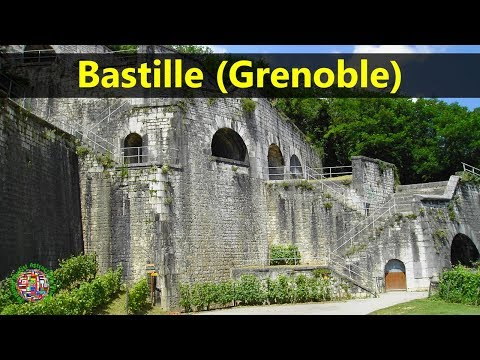 Best Tourist Attractions Places To Travel In France | Bastille (Grenoble) Destination Spot