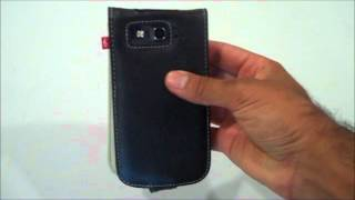 Samsung Galaxy S3 Leather Case by Proporta Thumbnail